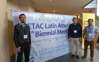 Doctorandos participan en SETAC-LA