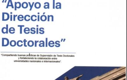 """Directora del Programa Participó en encuentro """"Apoyo a la Dirección de Tesis Doctorales"""""""