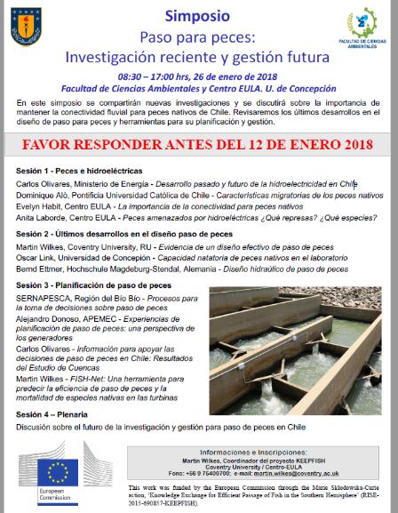 Simposio Paso para peces: Investigación reciente y gestión futura