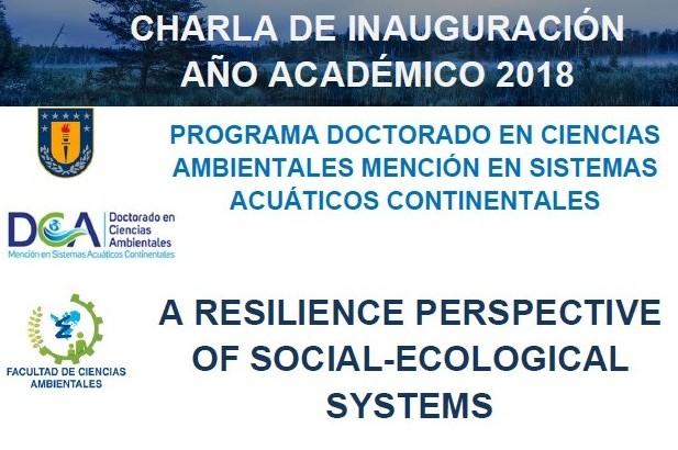 CHARLA DE INAUGURACIÓN AÑO ACADÉMICO 2018