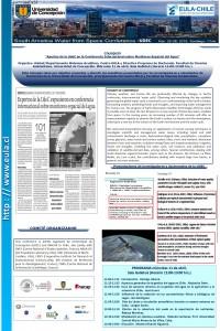 Coloquio Aportes UdeC Conferencia internacional monitoreo espacial agua