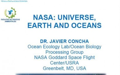 Charla  NASA: Universe, Earth and Oceans
