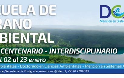 ESCUELA DE VERANO AMBIENTAL