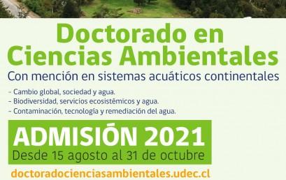 SE EXTIENDE  EL PLAZO DE POSTULACIÓN ADMISIÓN 2021,  HASTA EL 31 DE OCTUBRE
