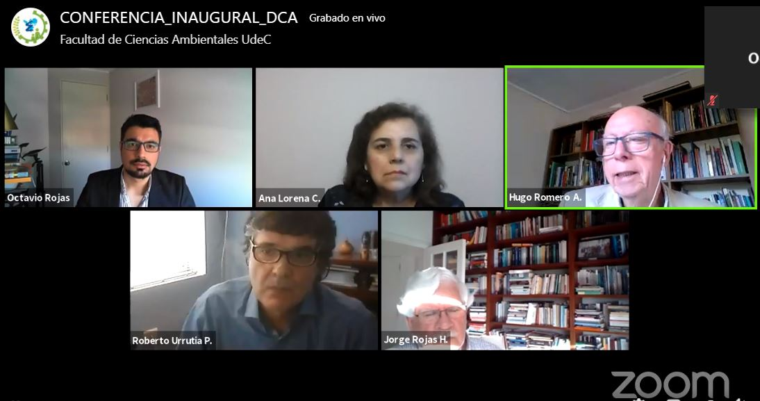 Dr. Hugo Romero Aravena dicta conferencia inaugural año académico 2021